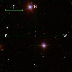 SDSS DR7 image from SkyServer